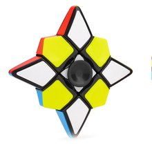 Magic Cubes single-order shaped rotating smooth Finger puzzle fun children's entertainment toys