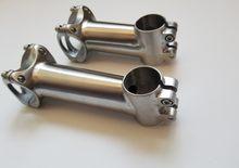 Titânio estrada bicicleta haste mtb guiador da bicicleta haste 31.8mm/25.4mm * 80/90/100/110/120mm