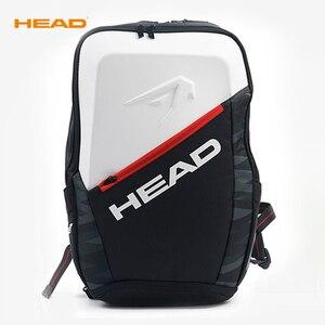 Image 5 - 원래 머리 테니스 가방 테니스 라켓 스쿼시 배드민턴 셔틀콕 가방 테니스 배낭 테니스 라켓 배낭 Tenis Bolso