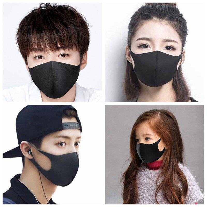 1pcs Cotton Mouth Mask Anti Haze Dust Washable Reusable Women Men Child Dustproof Mouth-muffle Winter Warm Mask Face Mouth Masks