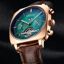 Ailang Mannen Horloge Mechanische Automatische Horloges Chronograaf Plein Polshorloge Tourbillon Mens Sport Waterdicht Relojes Hombre