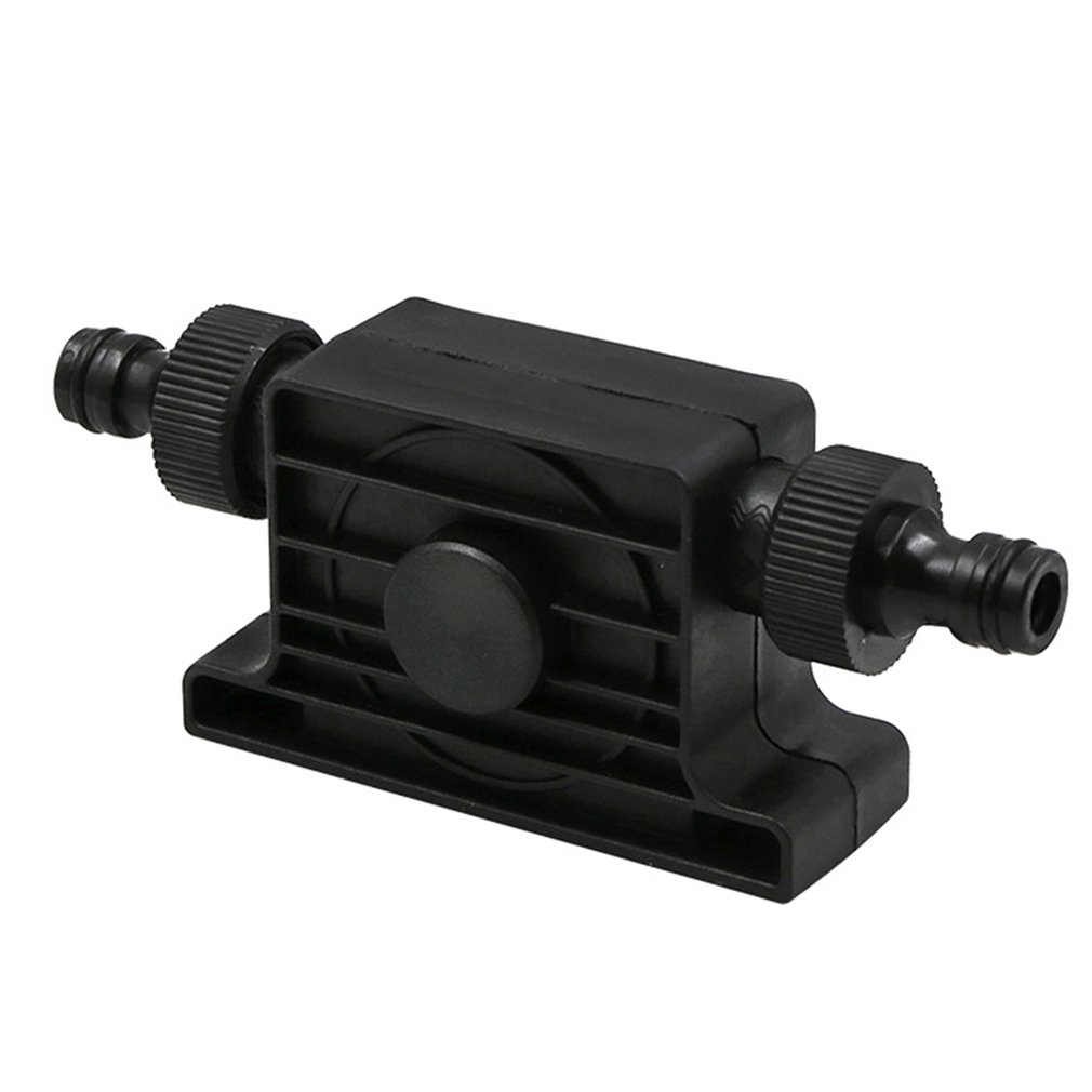 Portable 1800 M3/h Flow Rate Self Priming Transfer Oil Fluid Water Pump 8mm Round Shank For Electric Drill With Hose Connector