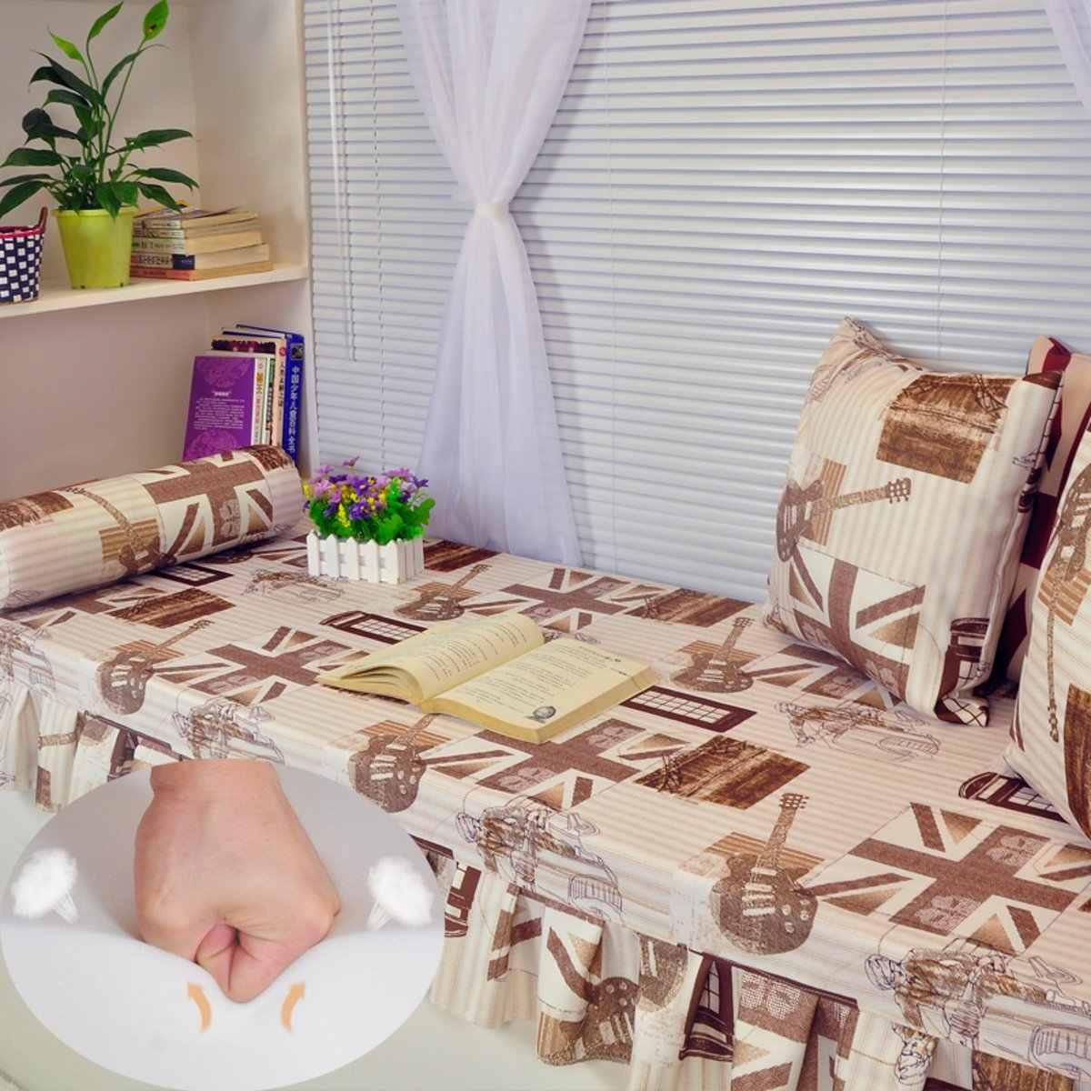 71x24 Pollici Ad Alta Densità di Schiuma Cuscino del Sedile di Ricambio Tappezzeria Firm Pad Eco-Friendly Divano Schiuma Pad Copriletto 0.5/ 1/2 pollici di Altezza