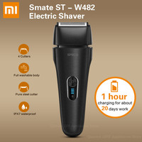 Xiaomi SMATE ST W482 Electric Shaver Rechargeable 4 Floatable Cutters Full Waterproof Body Fast Charge Shaving Beard Machine
