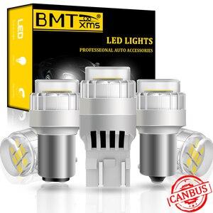 BMTxms 1x W5W W16W Ba15s Bay15d W21W T10 T15 T20 P21W LED Canbus Auto Signal Lamp For BMW e90 e46 e87 e60 x3 e83 f25 x5 e53 e70