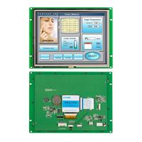 RS485 RS232 TTL MCU Interface Embedded Touch Screen 8.0 inch TFT LCD