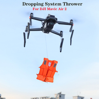 Remote Thrower for DJI Mavic Air 2 Fishing Bait Delivery Parabolic Air-Dropping System Battery Drone Quadcopter Accessories