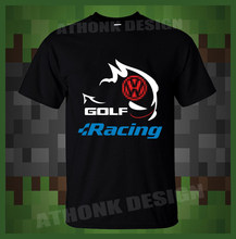 Golf Gti Wolfsburg Edition t-shirt Clothes Popular t-shirt Crewneck 100% Cotton Tees Funny Tees Cotton Tops T Shirt(China)