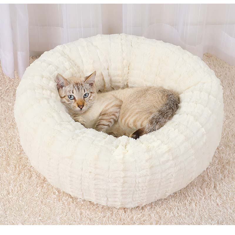 Warm Plush Indoor Cat House Kennel Dog Bed for Medium Dogs Machine Washable Outdoor Puppy Playen Tent Petshop Products S/M/L 20