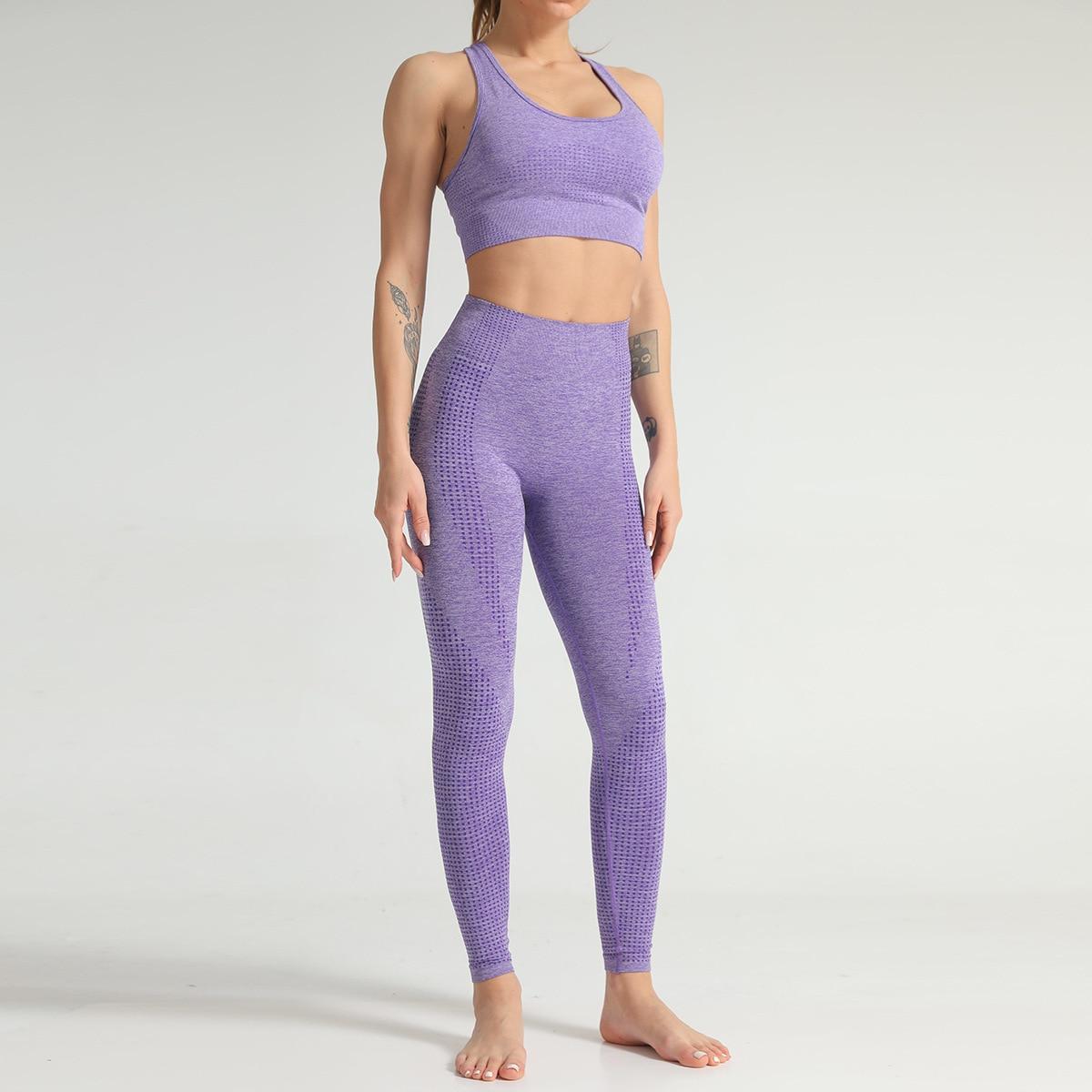 Purple Bra and Pants