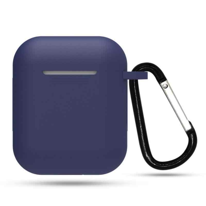 Mini miękki futerał silikonowy do Apple Airpods odporny na wstrząsy pokrowiec do Apple AirPods futerały na słuchawki do pokrowca na poduszki powietrzne