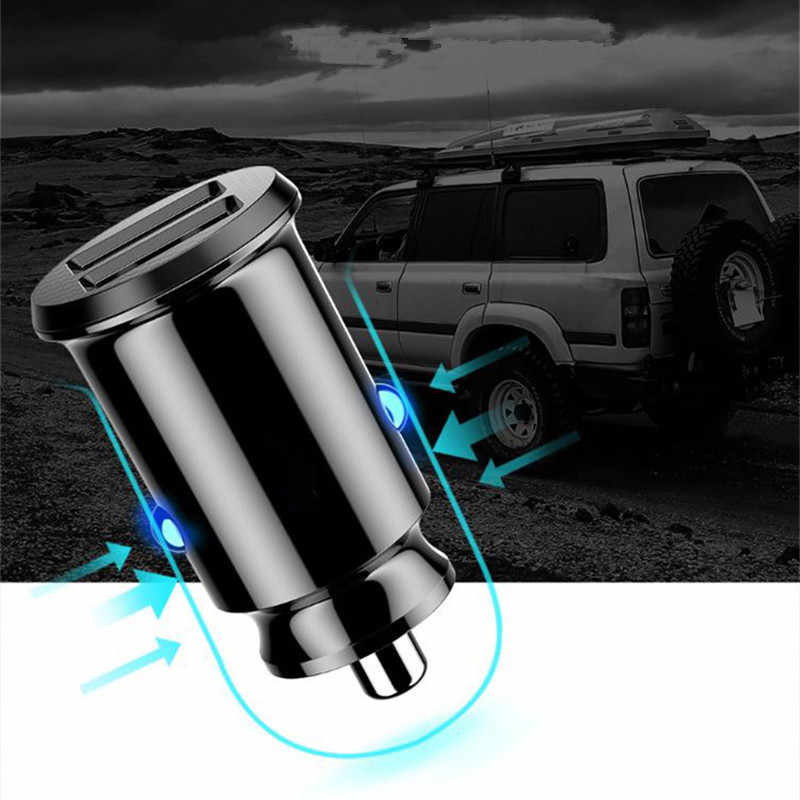 شاحن سيارة USB صغير للجوال هاتف لوحي GPS 3.1A سريع شاحن المزدوج USB ل فولكس فاجن باسات B5 B6 B7 طوارق جيتا غول توران GTI