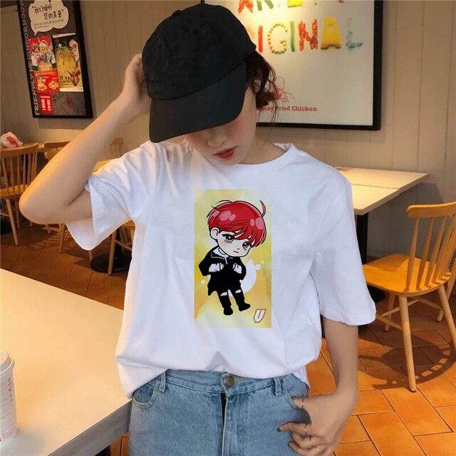 Купить модная комиксная футболка для мальчиков женская с милым принтом картинки цена