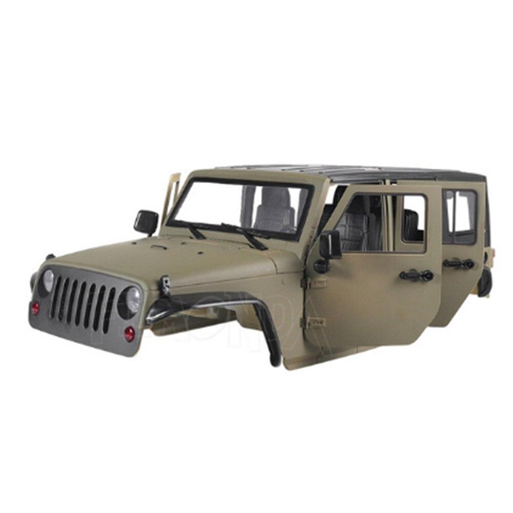 Car Shell Hard Body Frame 313mm Wheelbase for 1/10 Axial SCX10 90027 90046 Wrangler RC Car Accessories