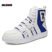 spring autumn Fashion Sneakers Men Canvas Shoes High top Male Brand Footwear Men's Casual Shoes  zapatos de hombre male botas