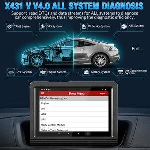 Image 3 - 起動X431 vフルシステムカー診断ツールbluetooth obd OBD2コードリーダー自動診断スキャナー2年送料更新