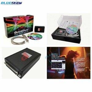 Quickshow qs controlador de luz laser fb4 fase projetor laser mostrar luz console dmx laser mostrar software ilda laser mostrar