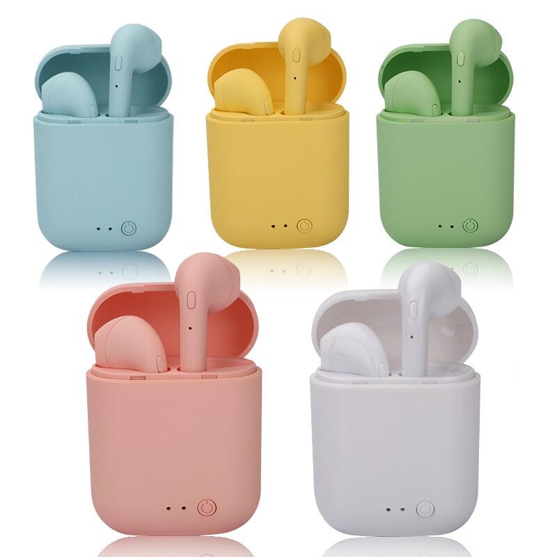 Mini 2 TWS беспроводные наушники Bluetooth 5,0 наушники Macaron наушники Спортивная гарнитура Handsfree с зарядным боксом Mic PK i9s TWS Наушники и гарнитуры      АлиЭкспресс