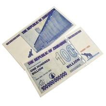 Зимбабве бумажные деньги 100 млрд банкнот Банкноты банкноты коллекционные предметы
