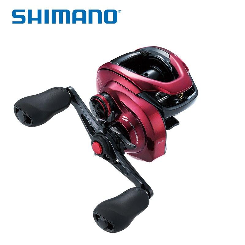 SHIMANO Скорпион MGL150 151 150HG 151HG 150XG 151XG 7,4: 1 8,5: 1 Шестерни соотношение морской низкий профиль Baitcast Рыболовная катушка