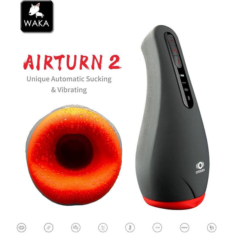 OTOUCH Male Masturbation Machine Automatic Heating Sucking Mouth Masturbator Cup Penis Sex Tools For Men Oral Stimulator Blowjob