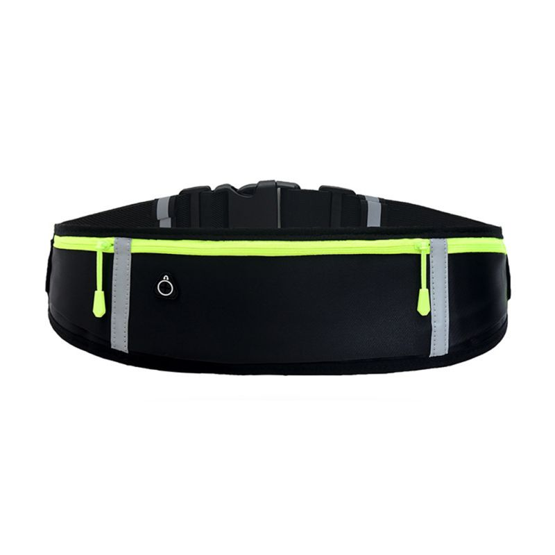 Waist Bag 3 Pockets Water Resistant Storage Bags Phone Case Outdoor Fitness Running Cycling Accessories ZL07