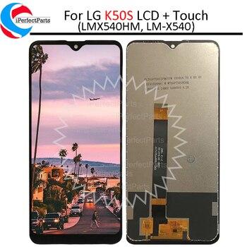 6.5 LCD do LG K50S LM-X540 LCD montaż digitizera ekranu dotykowego zamiennik do LG K50S LMX540HM wyświetlacz LCD