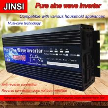 Voltage-Transformer Converter 4000w Solar 220V 12V/24V Pure To DC12V LED AC
