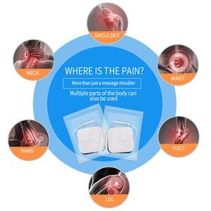 Image 5 - Recargable Mini Personal nervio de estimulación muscular EMS electrónicos Puls masajeador Digital TENS para terapia máquina de unidad de alivio del dolor