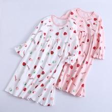 Милые детские пижамы; одежда для сна; ночная рубашка для малышей; ночная рубашка принцессы; ночная рубашка для девочек; хлопковое Детское ночное платье; домашняя одежда для малышей