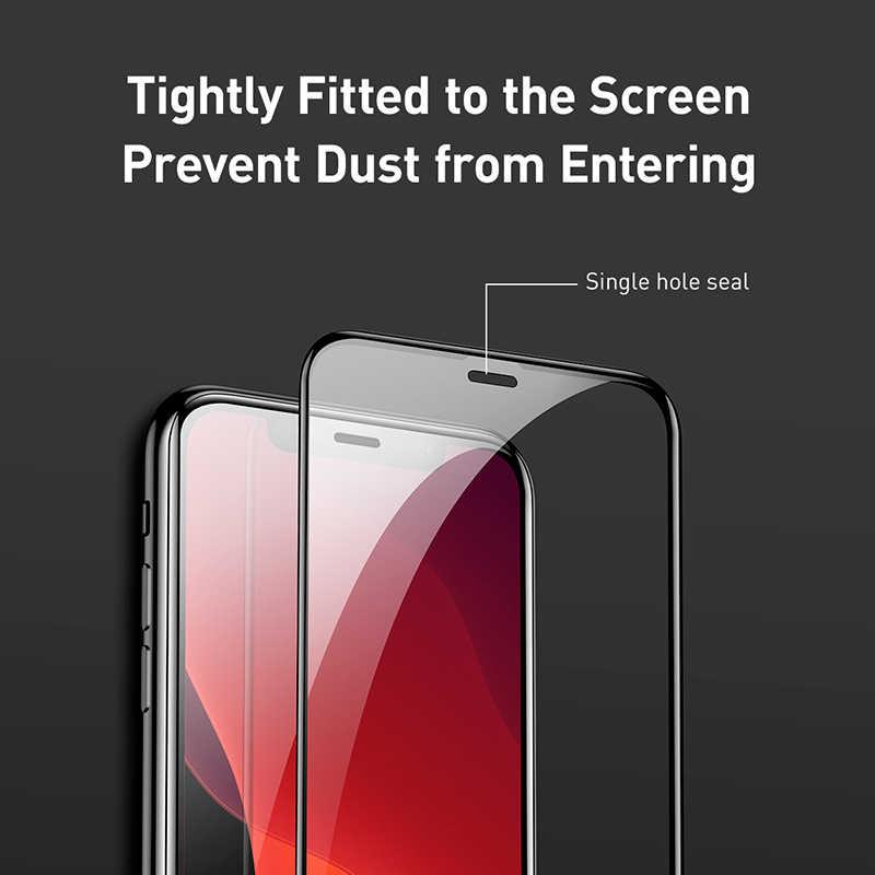 Cafele زجاج مقسى لهاتف آيفون 11 برو ماكس تغطية كاملة 9H صلابة HD واقي للشاشة واضحة لهاتف آيفون 11 برو ماكس