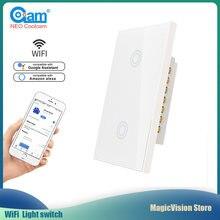 Neo coolcam wifi настенный светильник 2 банды переключатель