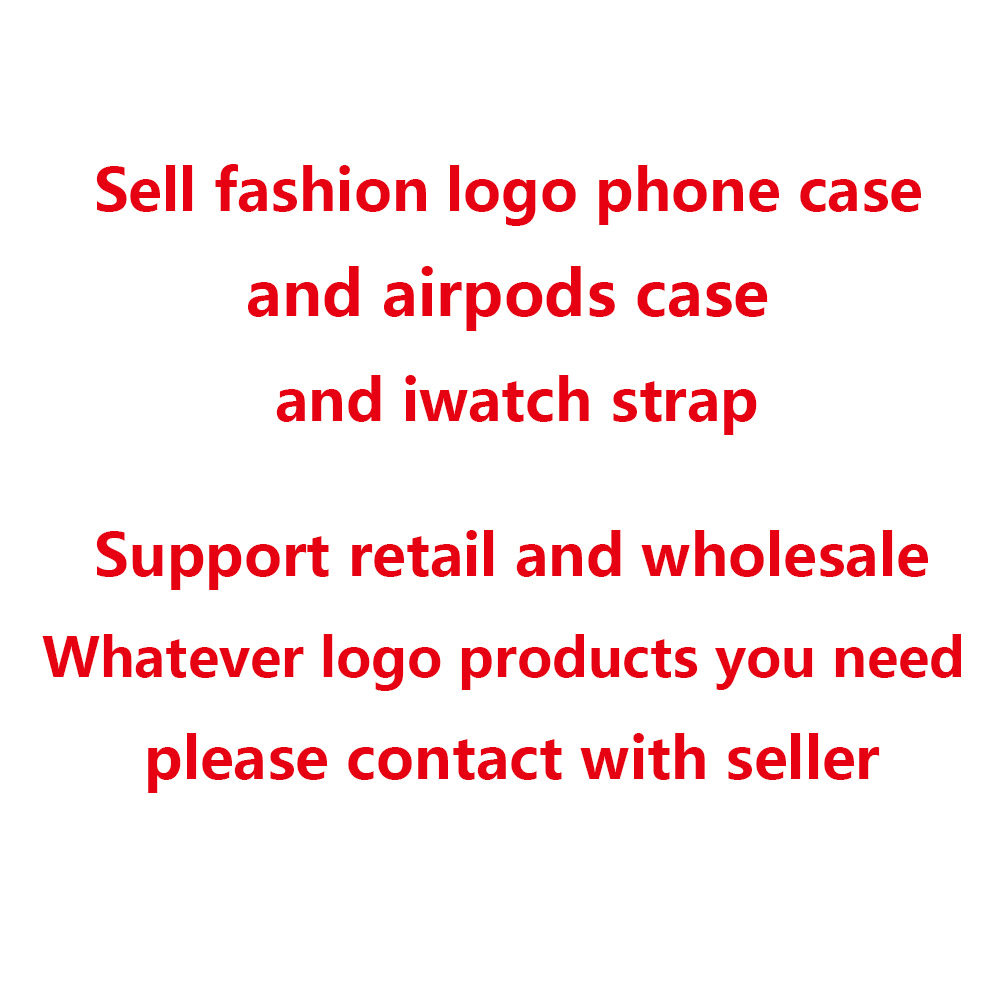 Sell Each Fashion <font><b>Brand</b></font> Logo <font><b>Airpods</b></font> <font><b>Case</b></font> For <font><b>Airpods</b></font> 1 2 pro image