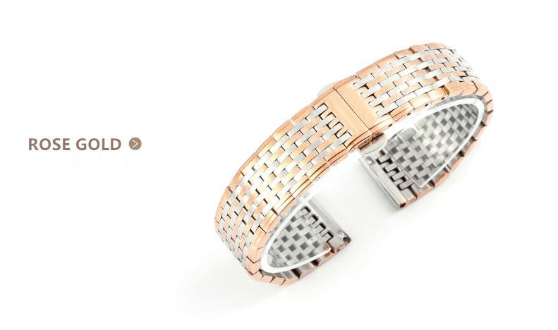 Izredno tanek trak iz jekla visoke kakovosti moški / ženske iz - Dodatki za ure - Fotografija 4