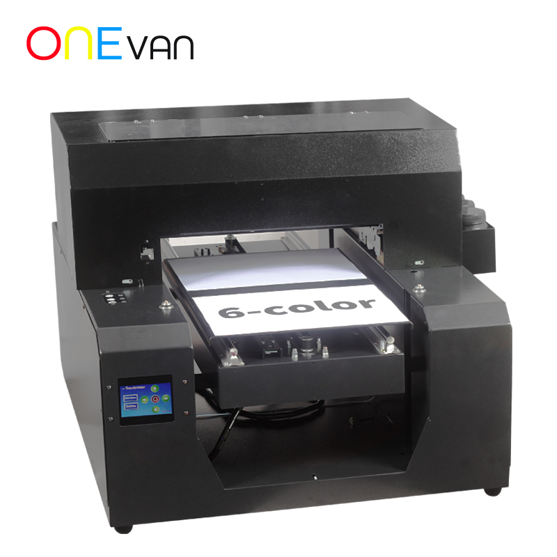 A3 UV Printer Machine A3 Size Phone Case Printer White Ink Flatbed Printing Machine For Metal/acrylic With Ink