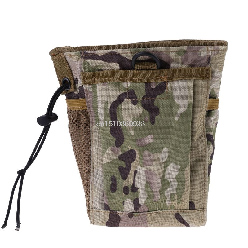 Metal Detecting Finds Recovery Bag Pouch Digger Gold Treasure Waist Camo Luck 448A