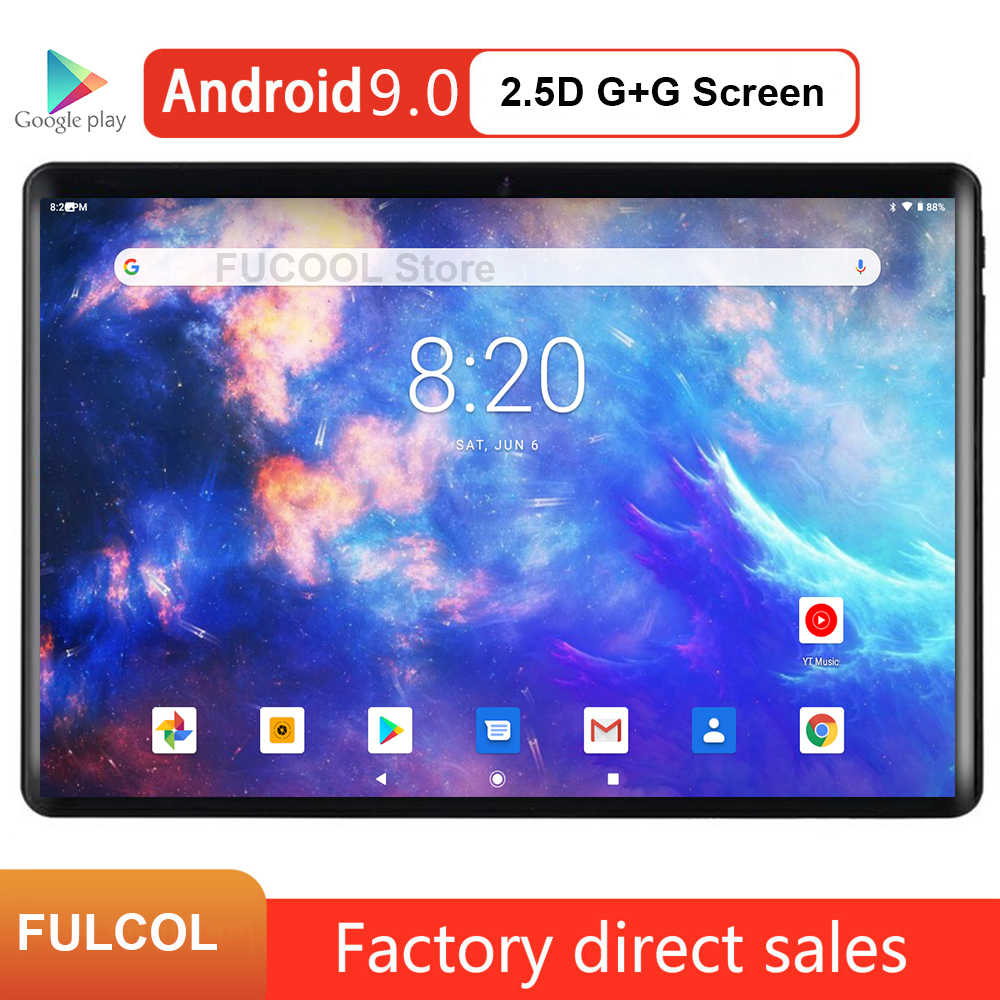 2020 neue design 32GB ROM android 9.0 tabletten dual Sim Karte Slots 3g PHABLET 5,0 mp GPS WIFI 10 zoll android tablet pc
