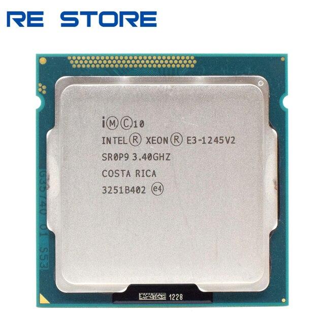 Б/у четырехъядерный процессор intel Xeon E3 1245 V2, 3,4 ГГц LGA 1155 8 Мб SR0P9