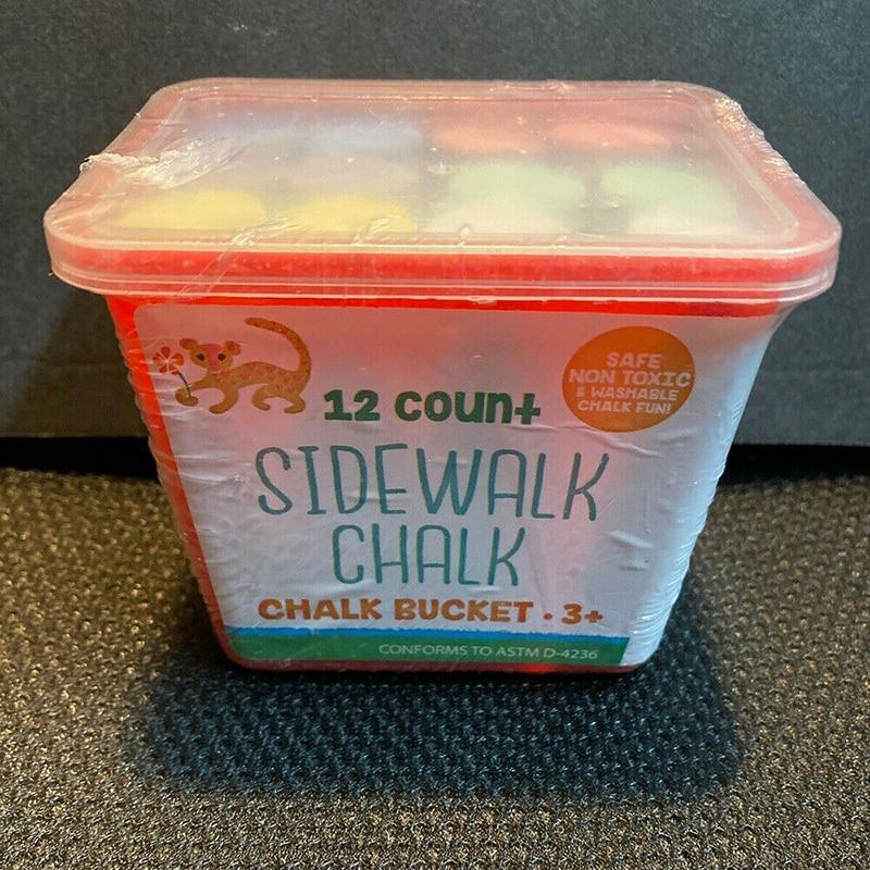 12pcs/box Coloured Chalk Jumbo Sidewalk Chalk Sticks Playground Giant Chalks Office Supplies Drawings Painting Chalk