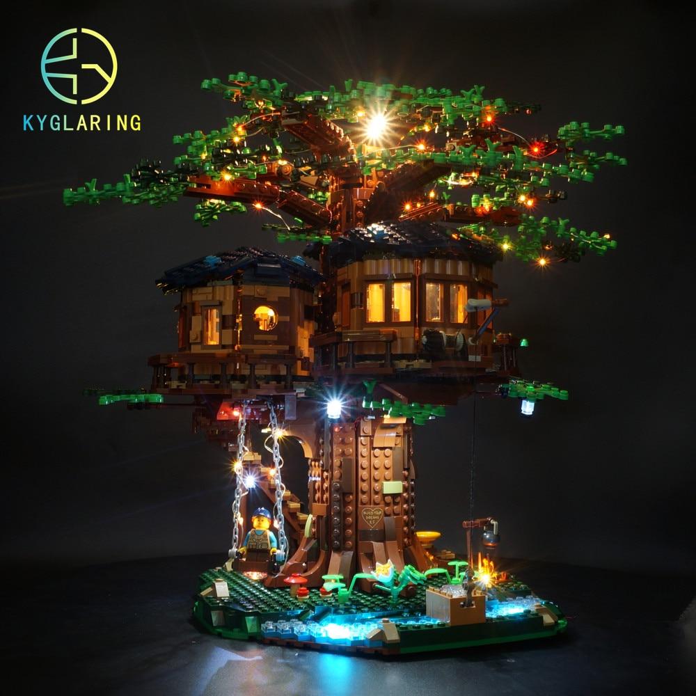 21318 treehouse 용 kyglaring led 라이트 키트 (라이트 키트 포함)-에서블록부터 완구 & 취미 의  그룹 1