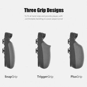 Image 4 - Skull & Co. Gripcase Beschermhoes Cover Shell Met Vervangbare Grips Voor Nintendo Switch