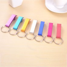 1pcs Portable Keychain Beer Bottle Opener 4 In 1 Pocket Aluminum Wine Can Personalized Logo Nice Gift