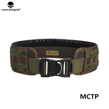 emersongear Tactical MOLLE Belt Outdoor Army Military Utility Airsoft Wristband Padded Patrol Hunting Rifle Combat Duty Belt 600d military tactical molle unisex clay dragon tactical belt durable canvas hunting material outdoor utility accessories