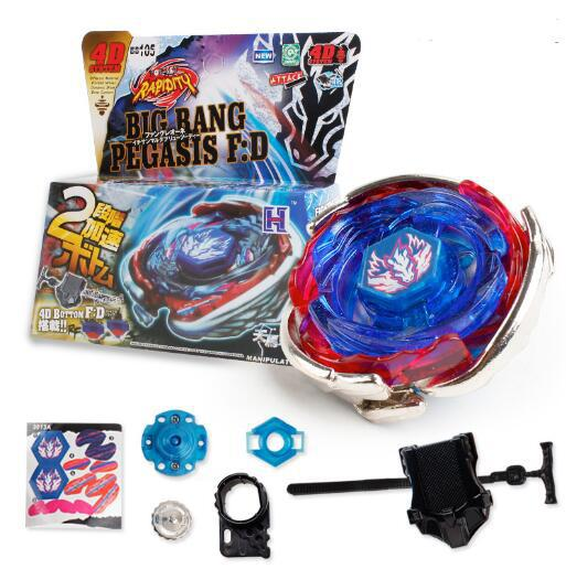 Kuulee Beyblade Metal Fusion 4D BB105 L Drago Gold Spinning,Rapidity Be
