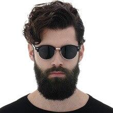 MUSELIFE 2020 Polarized Sunglasses Men Brand Designer vintage Classic Sun glasses Driving Semi Rimless Eyewear For Men/Women
