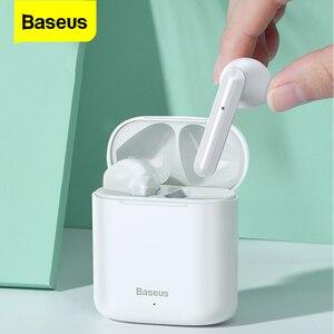 Image 1 - Baseus W09 TWS אלחוטי Bluetooth אוזניות סטריאו Bluetooth 5.0 אוזניות ספורט אמיתי אלחוטי אוזניות אוזניות עבור טלפון Xiaomi