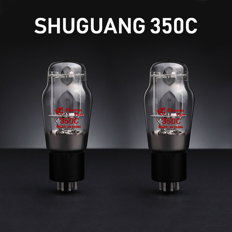 2Pcs Shuguang 350C Matched Pair Vacuum Tube Replace TUNG-SOL JJ 6L6GC 6P3P 5881 Amplifier Tested Welding Equipment Tube Welders