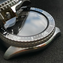 Watch-Case Ceramic Bezel Diver Crystal Stainless-Steel Nh35a/nh36a-Movement SKX007/SKX009