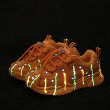Quality Kids Luminous Sneaker Boys Shoes Children's Girl Tod