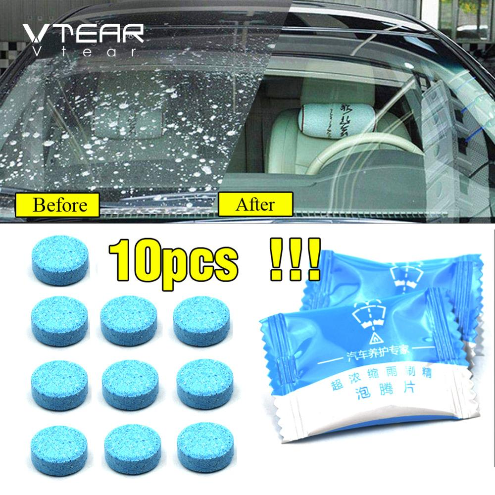 Vtear Detergent-Accessories Car-Wiper-Cleaner Windshield Cleaning-Spray Glass Pills Universal title=